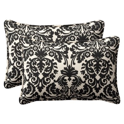 Pillow Perfect Decorative Rectangle Toss Pillow (Set of 2)