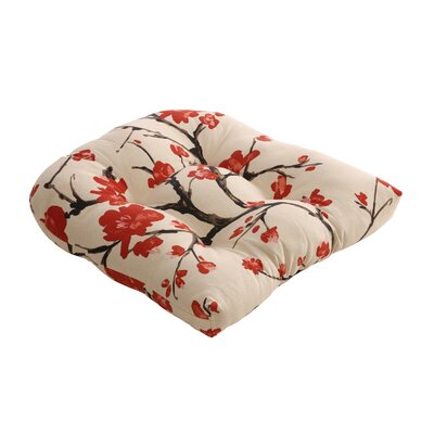 Pillow Perfect Flowering Branch Chair Cushion