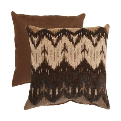 Ikat Chevron Throw Pillow