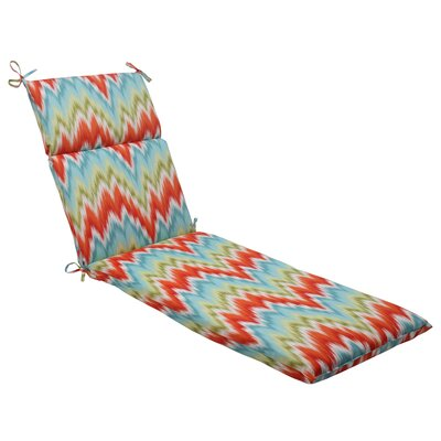 Pillow Perfect Flamestitch Chaise Lounge Cushion