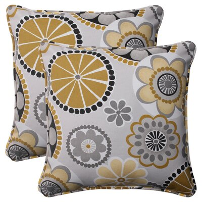 Pillow Perfect Rondo Corded Throw Pillow (Set of 2)