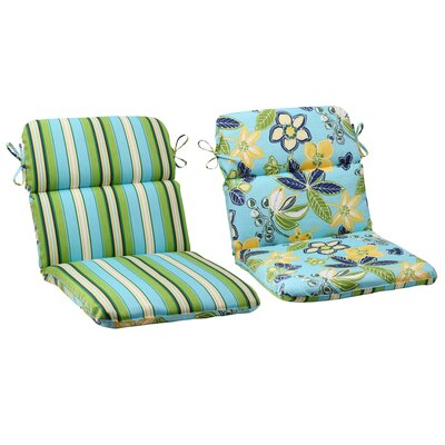 Calypso / Tropez Reversible Chair Cushion