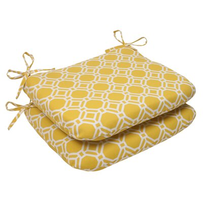 Pillow Perfect Rossmere Seat Cushion (Set of 2)