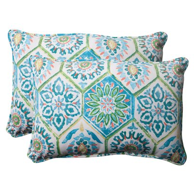 Pillow Perfect Summer Breeze Corded Throw Pillow (Set of 2)