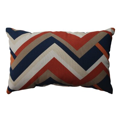 Pillow Perfect Concorde Chevron Cotton Throw Pillow