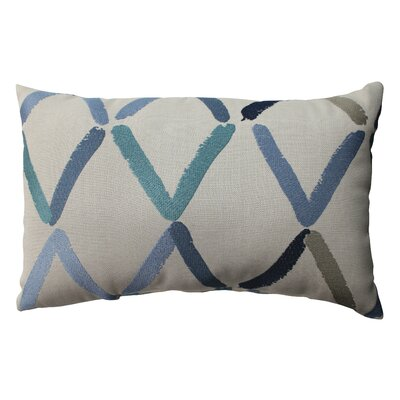 Pillow Perfect Diamonte Geo Polyester Throw Pillow