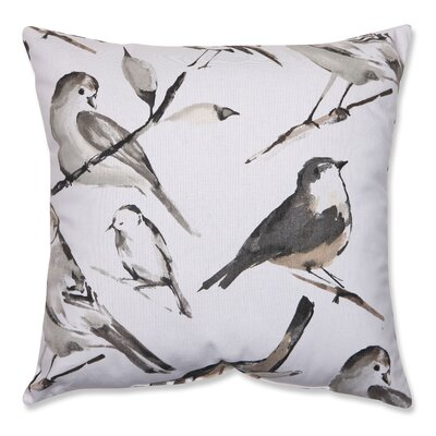 Pillow Perfect Bird Watcher Cotton / Poly Pillow