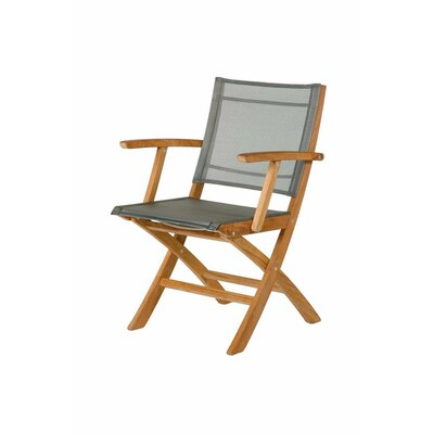 Barlow Tyrie Teak Horizon Folding Lounge Side Chair
