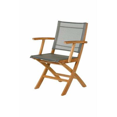 Barlow Tyrie Teak Horizon Folding Lounge Side Chair