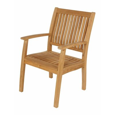Barlow Tyrie Teak Monaco Dining Arm Chair