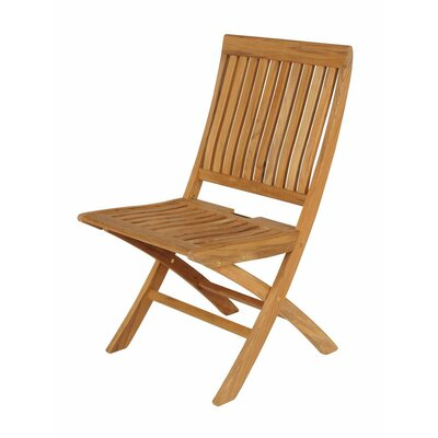Barlow Tyrie Teak Monaco Folding Dining Side Chair