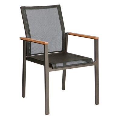 Barlow Tyrie Teak Aura Stacking Lounge Arm Chair