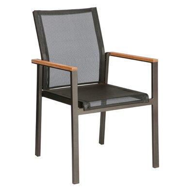 Barlow Tyrie Teak Aura Stacking Lounge Arm Chair