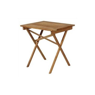 Barlow Tyrie Safari Rectangular Side Table