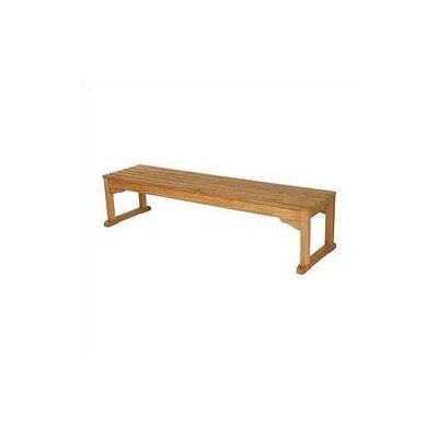 Barlow Tyrie Teak Wimbledon Backless Bench