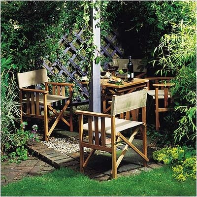 Barlow Tyrie Safari 3 Piece Dining Set