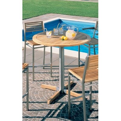Barlow Tyrie Teak Equinox 4-Seat Outdoor High Pub Set