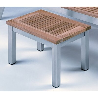 Barlow Tyrie Teak Equinox Rectangular Lounge Side Table