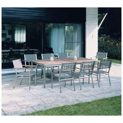 Barlow Tyrie Equinox 9 Piece Dining Set