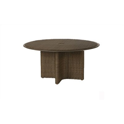 Barlow Tyrie Savannah Woven Round Dining Table