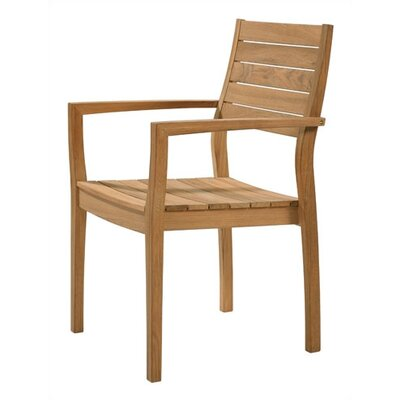 Barlow Tyrie Horizon Teak Stacking Lounge Chair