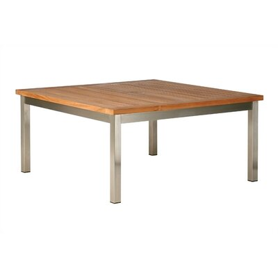 Barlow Tyrie Teak Equinox Square Conversational Table