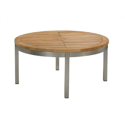 Barlow Tyrie Teak Equinox Round Table Seating Group