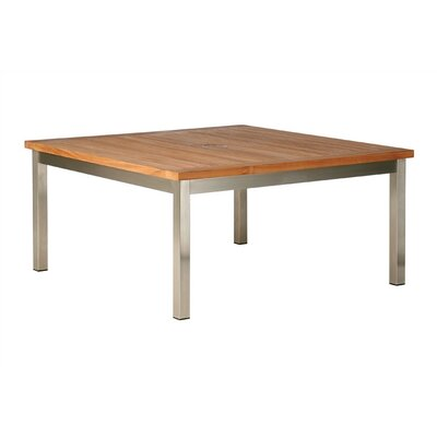 Barlow Tyrie Teak Equinox Square Table Seating Group