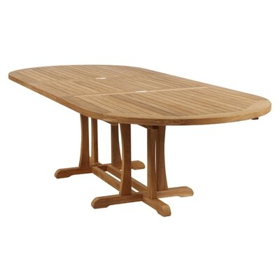 Barlow Tyrie Stirling Double Butterfly Extending Dining Table