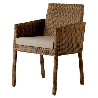 Barlow Tyrie Teak Nevada Woven Lounge Armchair with Cushion