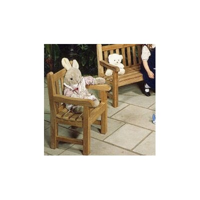 Barlow Tyrie Teak Glenham Junior Dining Arm Chair