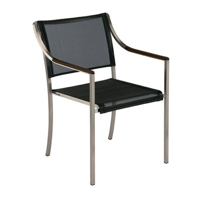 Barlow Tyrie Teak Quattro Stacking Dining Arm Chair