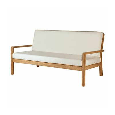 Barlow Tyrie Teak Avon Deep Seating Sofa with Cushions