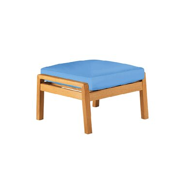 Barlow Tyrie Teak Avon Ottoman with Cushion