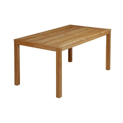 Barlow Tyrie Teak Linear Rectangular Teak Dining Table