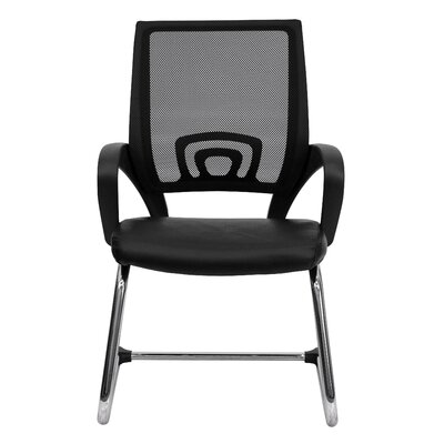 Flash Furniture Mesh Back Guest Side Chair with Sled Base