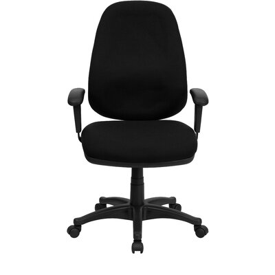 Flash Furniture Fabric Computer Office Chair with Height and Width Adjustable Arms