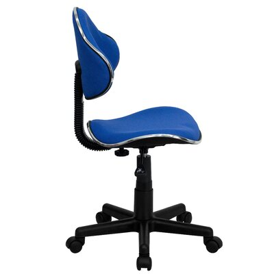 Flash Furniture Student Mid-Back Task Chair with Metal Accent Bands