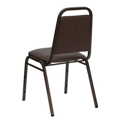 "Flash Furniture 1.5"" Hercules Series Trapezoidal Back Stacking Banquet Chair with Copper Vein Frame"
