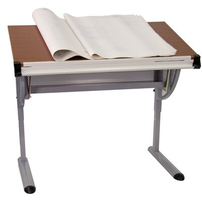 Flash Furniture Adjustable Melamine Drafting Table