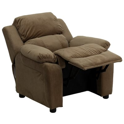 Flash Furniture Contemporary Kid's Recliner with Storage Arms