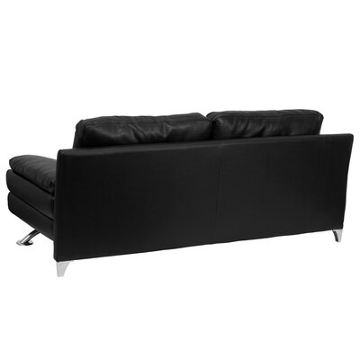 Flash Furniture Hercules Excel Series Plush Sofa with Curved Feet