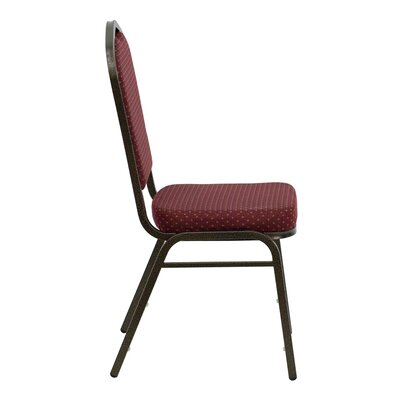 Flash Furniture Hercules Series Crown Back Stacking Banquet Chair with 2.5'' Thick Seat