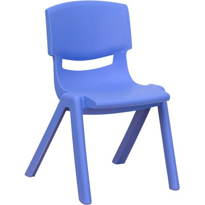 Flash Furniture 10.5&quot; Plastic Stackable Classroom Chair