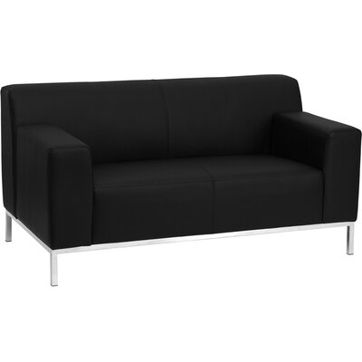 Flash Furniture Hercules Definity Series Contemporary Loveseat