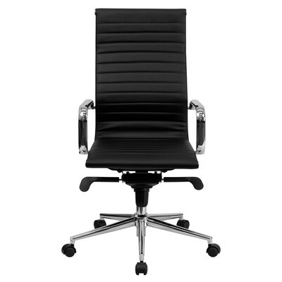 Flash Furniture High-Back Upholstered Leather Executive Office Chair