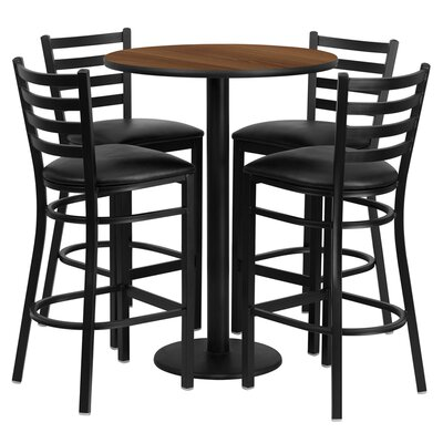 Flash Furniture 5 Piece Table Set