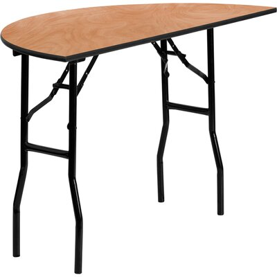 Flash Furniture Half-Round Folding Banquet Table