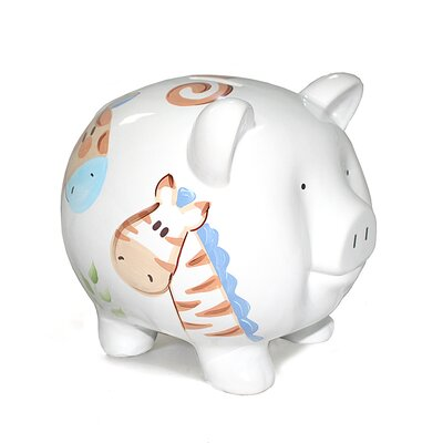 Child to Cherish Jungle Jack Large Piggy Bank