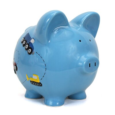 Child to Cherish Construction Piggy Bank